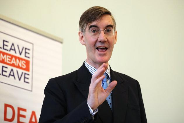 """Jacob Rees-Mogg dubbed Remainers as """"cave dwellers"""" today as he warned Theresa"""