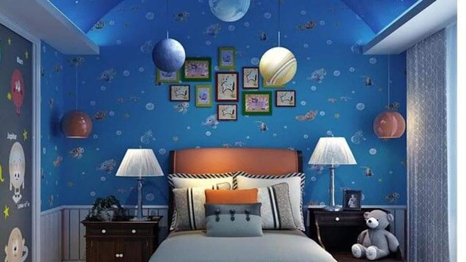Want the outer space in your room? Some DIY tips