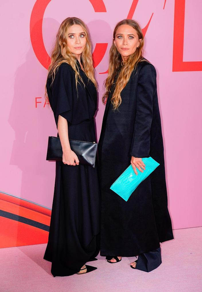 <p>Mary-Kate and Ashley Olsen rose to fame playing the same person on <em>Full House</em>, so it's only natural they would make the list. The twins are still in business together but retired from acting in 2012. Now, they run two fashion brands, The Row and Elizabeth and James<em>. </em></p>