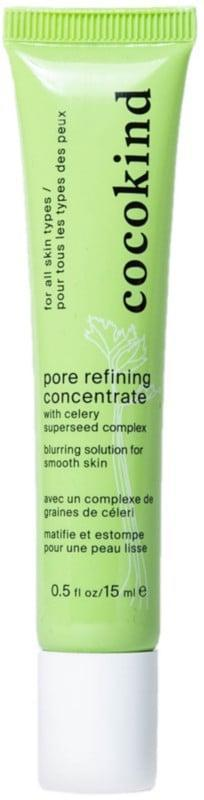 <p>The <span>Cocokind Pore Refining Concentrate</span> ($14) blurs the appearance of pores for a smoother-looking complexion while leaving the skin silky-smooth thanks to hydrating celery extract.</p>