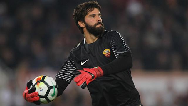 Alisson has been linked with Liverpool and Real Madrid but is apparently focused only on a good end to the season with Roma.