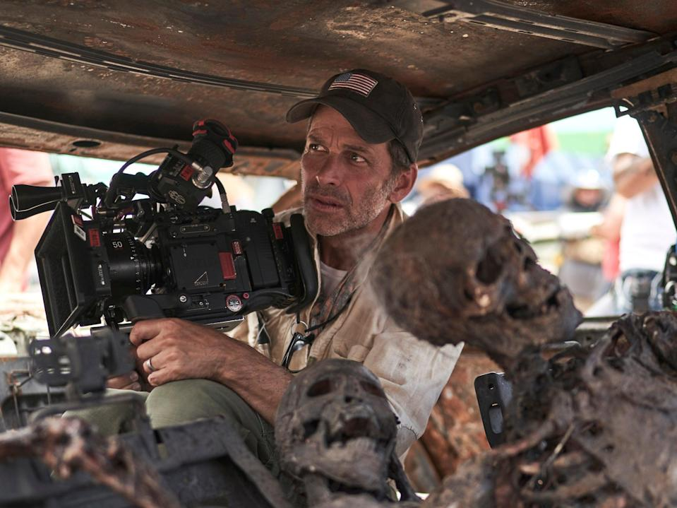Zack Snyder behind-the-scenes of Netflix film 'Army of the Dead' (CLAY ENOS/NETFLIX)