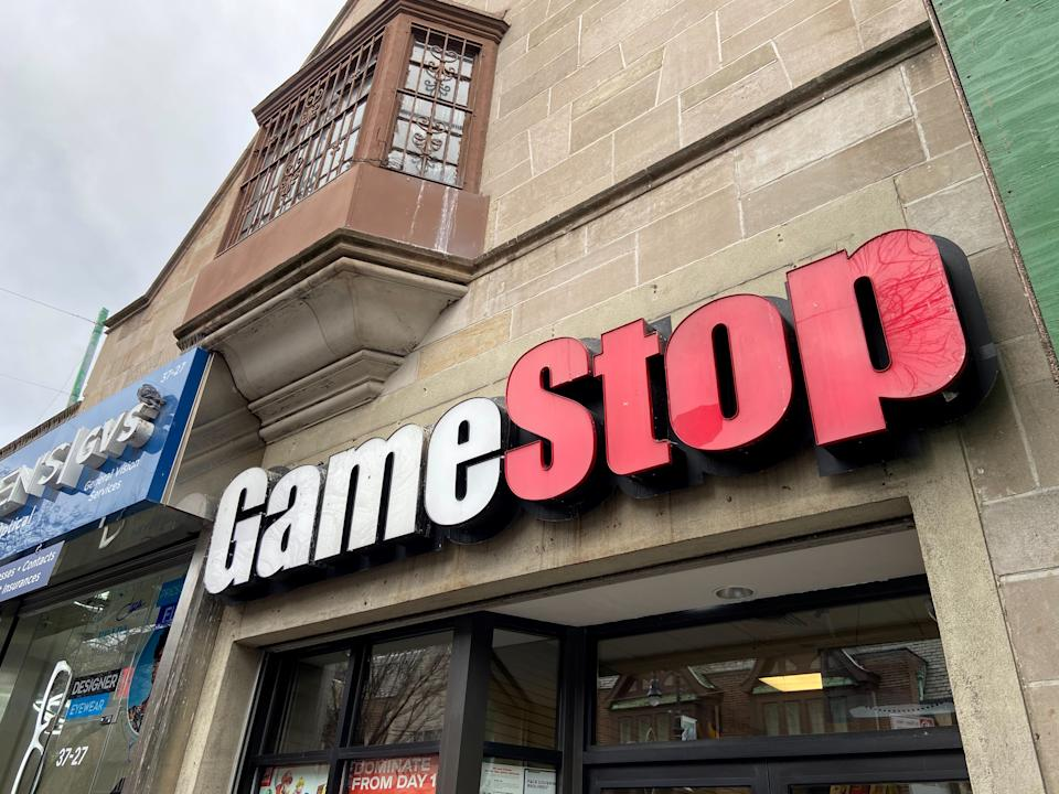 A GameStop store in the Jackson Heights neighborhood of New York City, US. Photo: Nick Zieminski/Reuters