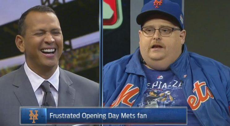 Newly famous Mets fan tells A-Rod how much he enjoyed watching him ...