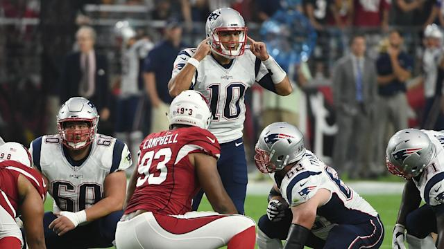 With Tom Brady away on a four-game sabbatical, it was time for the third-year understudy to put his teachings to the test. He was up for it.