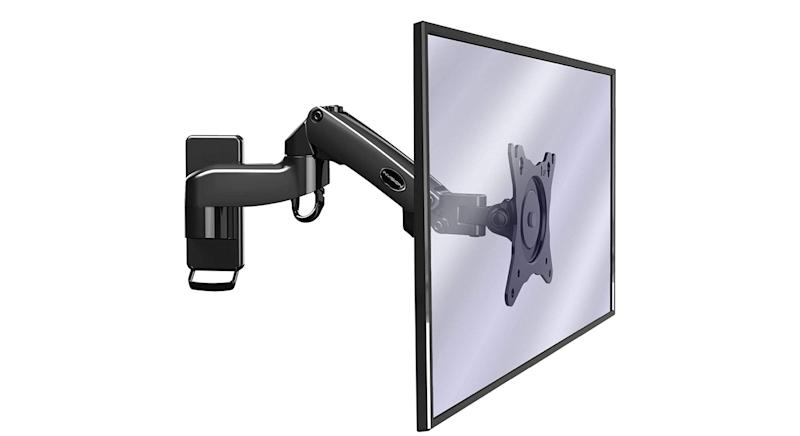 Invision Monitor Arm Wall Mount Bracket for PC Monitor & TV