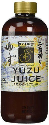 """<p><strong>Yakami Orchard</strong></p><p>Amazon</p><p><strong>$14.28</strong></p><p><a href=""""https://www.amazon.com/dp/B002ACC8II?tag=syn-yahoo-20&ascsubtag=%5Bartid%7C10050.g.34016464%5Bsrc%7Cyahoo-us"""" rel=""""nofollow noopener"""" target=""""_blank"""" data-ylk=""""slk:Shop Now"""" class=""""link rapid-noclick-resp"""">Shop Now</a></p><p>Yuzu is a Japanese citrus fruit similar to lemon, but with a distinctively bright flavor. You can use it anywhere lemon juice is called for—from salad dressings to cocktails, to marinades, or even just dressing up a LaCroix—and it'll give dishes an """"mmm, what's <em>in</em> that?"""" edge.</p>"""