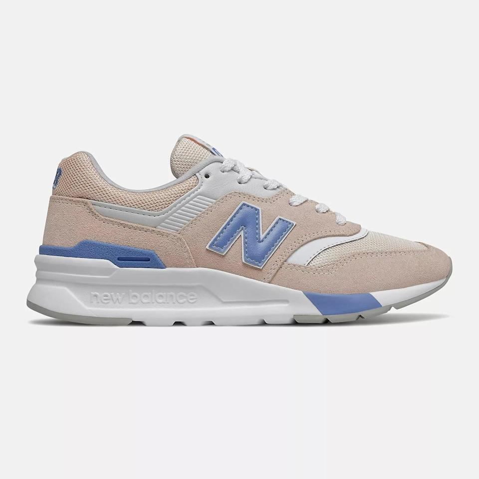 <p>Rock these popular <span>New Balance 997 Classic Sneakers</span> ($80, originally $90) with your favorite jeans.</p>