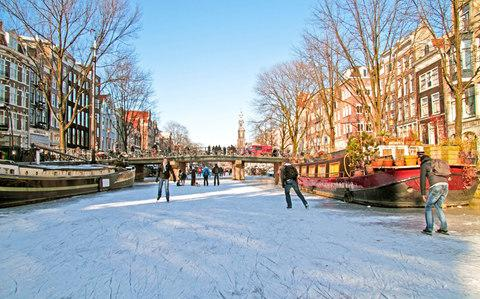 We're coming up to ice skating season so take advantage - Credit: Devy Masselink / Alamy Stock Photo
