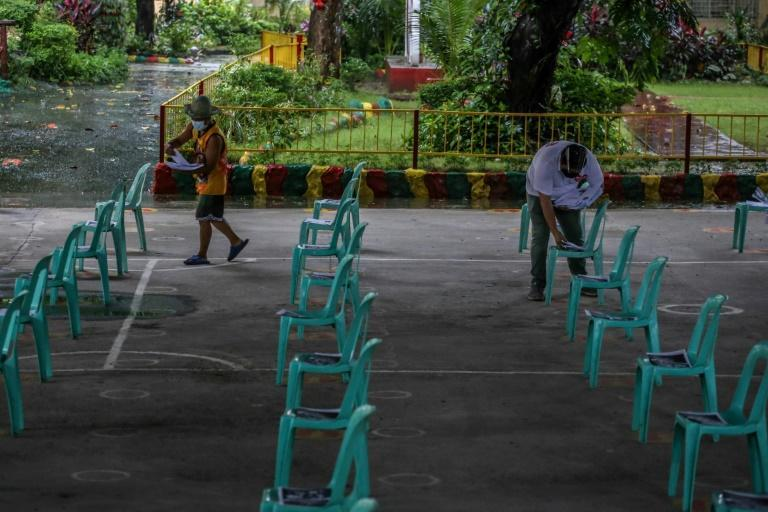 Fifteen-year-olds in the Philippines were at or near the bottom in reading, mathematics and science, according to OECD data (AFP/Jam STA ROSA)