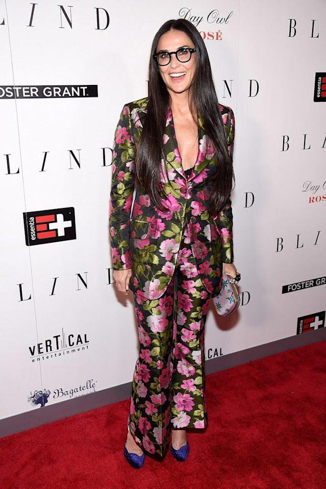 Moore was styled by Karla Welch. (Photo: Getty Images)