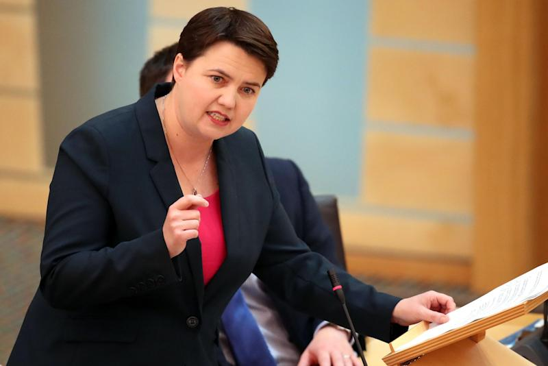 Scottish Conservative party leader Ruth Davidson was warned politicians need to be more realistic: PA Wire/PA Images