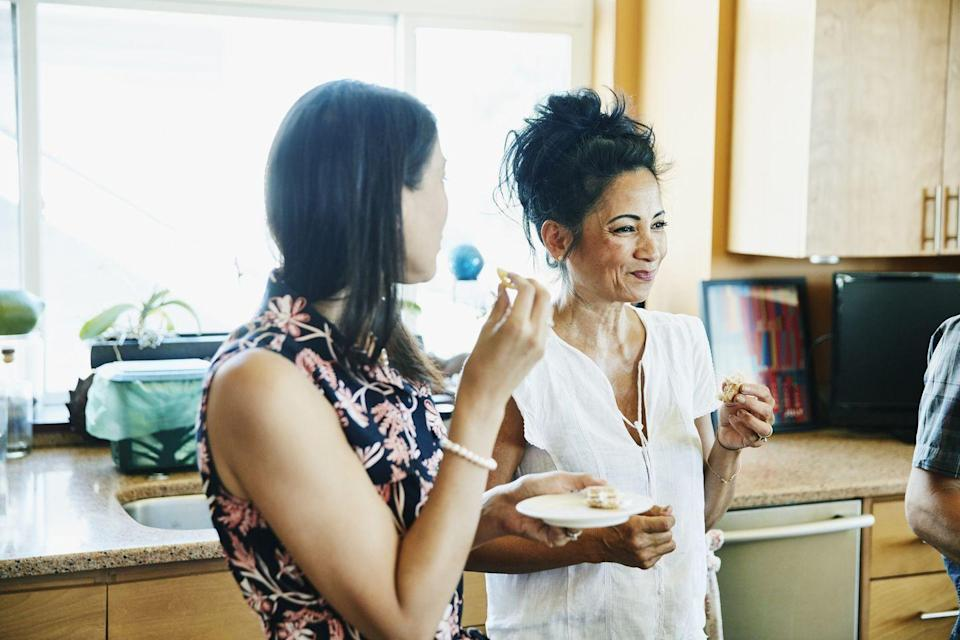 <p>When tasting someone's cooking, always go with a polite reaction — even if it's a bit of a fib.<br></p>