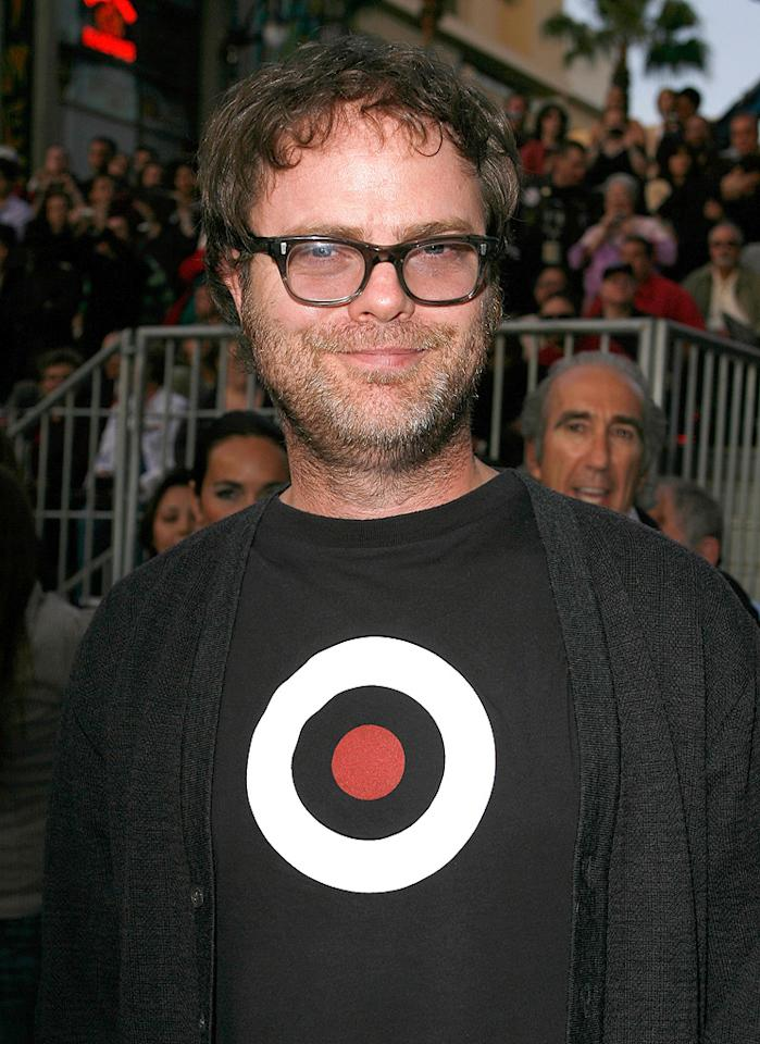 "<a href=""http://movies.yahoo.com/movie/contributor/1804471845"">Rainn Wilson</a> at the Los Angeles premiere of <a href=""http://movies.yahoo.com/movie/1809752801/info"">Star Trek</a> - 04/30/2009"