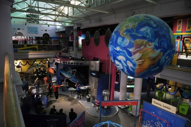 The Saskatchewan Science Centre isn't laying people off just yet as they work on virtual programming.