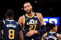 "<p>Following the announcement that Utah Jazz player Rudy Gobert tested positive for coronavirus on March 11, his team's evening game was canceled and following the rest of the night's play, <a href=""https://people.com/health/nba-suspends-season-after-utah-jazz-player-rudy-gobert-tests-positive-for-coronavirus/"" rel=""nofollow noopener"" target=""_blank"" data-ylk=""slk:the NBA came to a halt"" class=""link rapid-noclick-resp"">the NBA came to a halt</a>. ""The NBA will use this hiatus to determine next steps for moving forward in regard to the coronavirus pandemic,"" a statement from the league shared on Twitter concluded. Days prior, Gobert On Monday, Gobert appeared to poke fun at the virus during a press conference when he leaned over and touched all of the microphones and recorders following his interview, not knowing at the time he was positive. </p>"