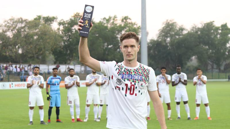 Indian Football: Joseba Beitia named Mohun Bagan Player of the Year