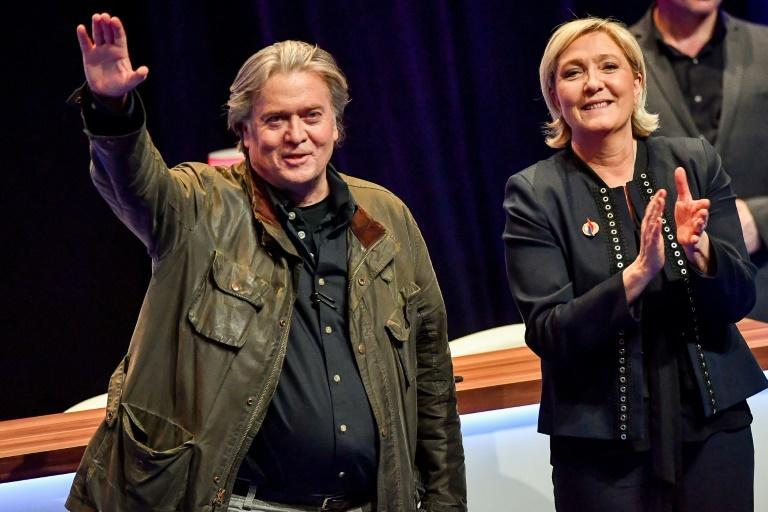 Le Pen and Steve Bannon yearn for a far-right reawakening in Europe