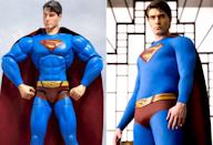 <p>Brandon Routh appears to have hit the steroids pretty hard before posing for his 'Superman Returns' action figure. (Photo: Hot Toys/Everett)</p>