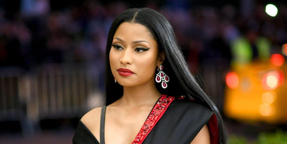 Nicki Minaj Shares a First Glimpse at Her New Baby Boy