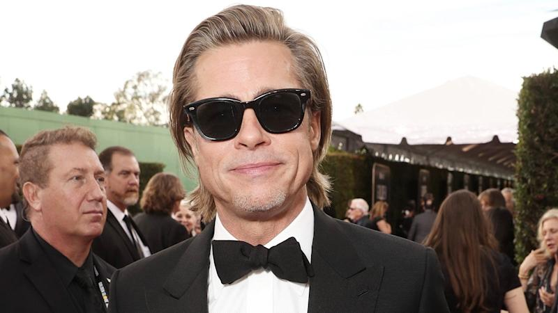 The Best Brad Pitt in Sunglasses Moments -- From Golden Globes to Venice Film Festival