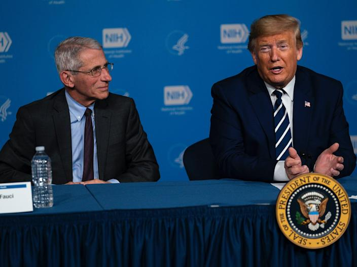 The US's top infectious-diseases expert said 'it would be nice' if Trump hadn't scrapped the NSC's global-health unit