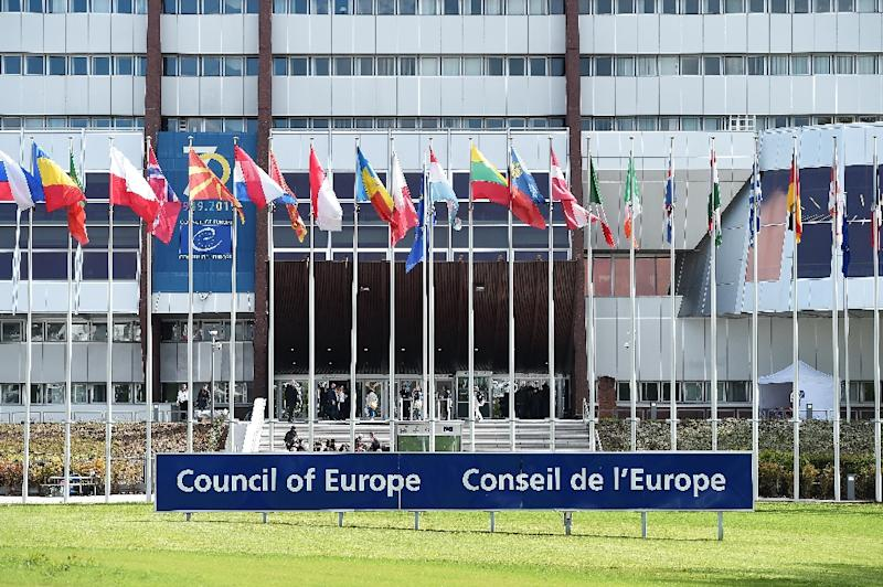 The Council of Europe has no binding powers but makes recommendations on rights and democracy (AFP Photo/FREDERICK FLORIN)