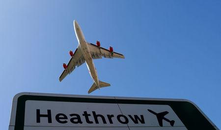 London's Heathrow airport briefly suspends some flights due to 'security issue'