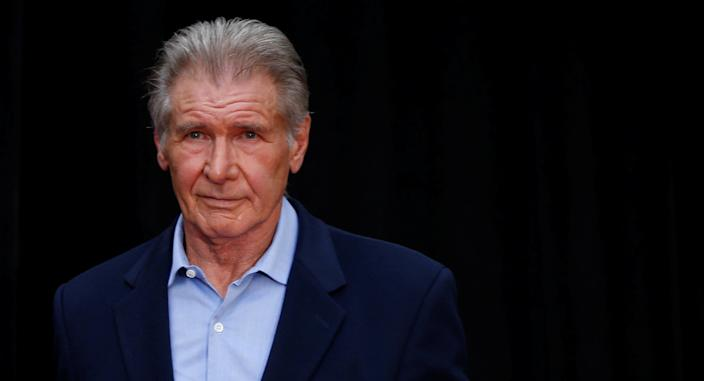 Actor Harrison Ford, who spoke at the UN Climate Action Summit in New York, is being called out for using a private plane. (Photo: Reuters/Mario Anzuoni)