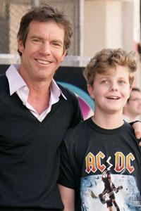 Dennis Quaid and Jack Quaid