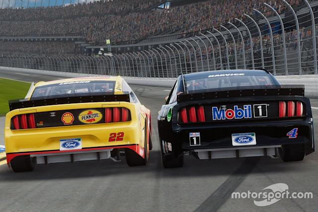 "NASCAR Heat 5 screenshot <span class=""copyright"">704 Games</span>"
