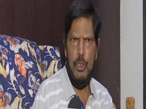 Republican Party of India (RPI) president Ramdas Athawale (Photo: ANI)