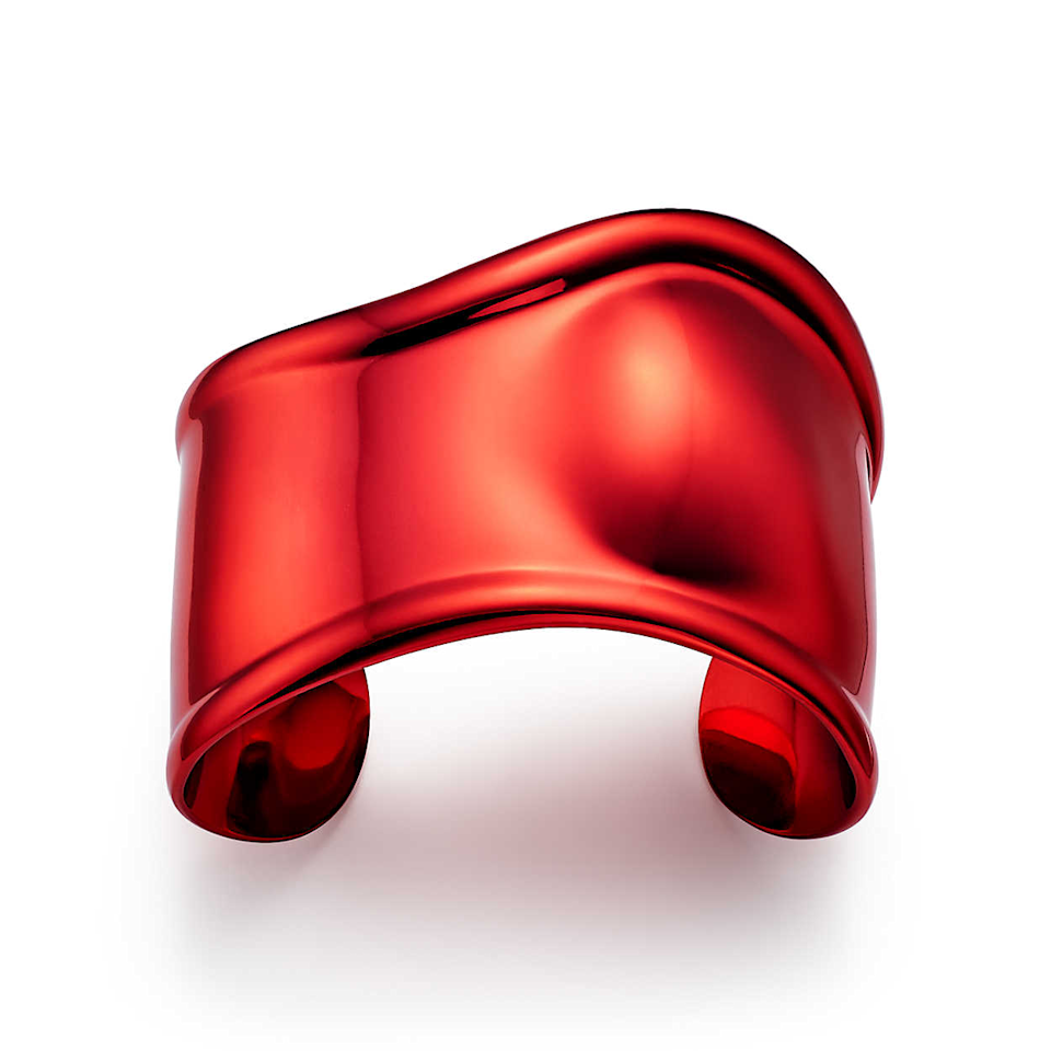 """Inspired by the body, this stainless steel cuff designed by Elsa Peretti for Tiffany & Co. is all luxury, all the way.<br><br><strong>Elsa Peretti for Tiffany and Co.</strong> Small Bone Cuff, $, available at <a href=""""https://go.skimresources.com/?id=30283X879131&url=https%3A%2F%2Fwww.tiffany.com%2Fjewlery%2Fitems%2Felsa-peretti-small-bone-cuff-68282551%2F"""" rel=""""nofollow noopener"""" target=""""_blank"""" data-ylk=""""slk:Tiffany & Co"""" class=""""link rapid-noclick-resp"""">Tiffany & Co</a>"""
