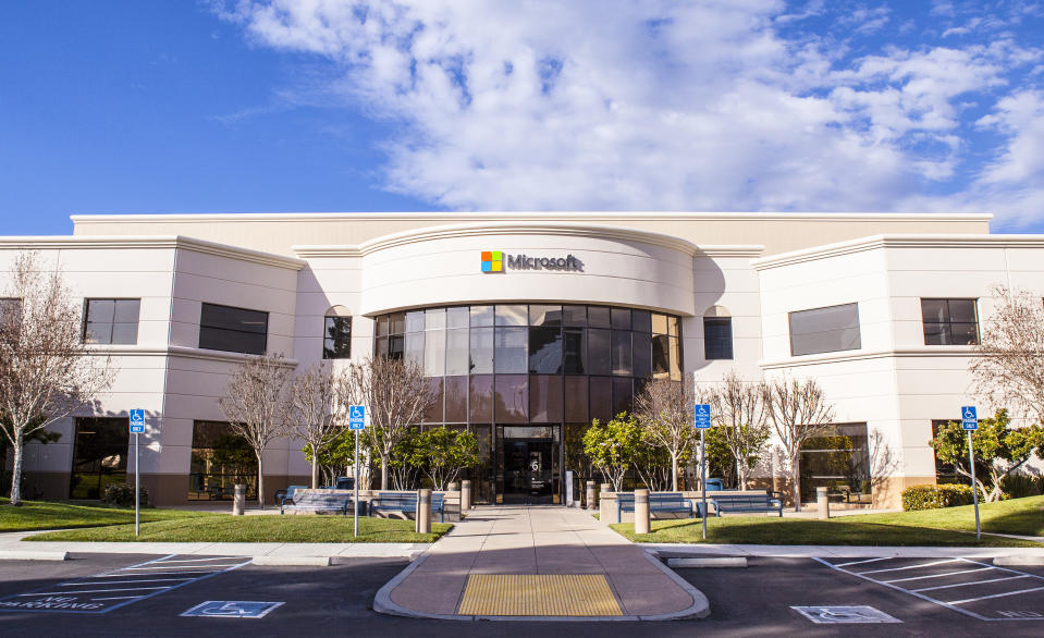 Microsoft Offices, Mountain View, Ca.