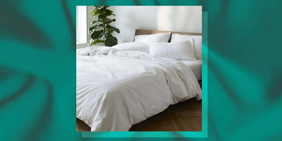 """<p>One of our favorite brands for <a href=""""https://www.bestproducts.com/home/decor/a14426287/reviews-best-bed-sheets/"""" rel=""""nofollow noopener"""" target=""""_blank"""" data-ylk=""""slk:sheets"""" class=""""link rapid-noclick-resp"""">sheets</a>, <a href=""""https://www.bestproducts.com/home/a14480154/reviews-best-bath-towels-sets/"""" rel=""""nofollow noopener"""" target=""""_blank"""" data-ylk=""""slk:towels"""" class=""""link rapid-noclick-resp"""">towels</a>, and <a href=""""https://www.bestproducts.com/home/decor/g1281/best-scented-candles/"""" rel=""""nofollow noopener"""" target=""""_blank"""" data-ylk=""""slk:candles"""" class=""""link rapid-noclick-resp"""">candles</a> is turning 7, and they're celebrating with a sitewide 20%-off sale! Brooklinen is a household name that we simply can't get enough of. The brand has made a name for itself with its affordable, impeccably made linens, available in modern-minimalist patterns and colorways, that feel like a dream.</p><p>From now through May 5, the sale is on. You can score 20% off of any of their sheets, towels, and accessories (just not anything from their Spaces section). So <a href=""""https://go.redirectingat.com?id=74968X1596630&url=https%3A%2F%2Fwww.brooklinen.com%2Fproducts%2Fluxe-move-in-bundle%3Fcolor1%3Dsteel&sref=https%3A%2F%2Fwww.bestproducts.com%2Fhome%2Fg36230872%2Fbrooklinen-birthday-sale-april-2021%2F"""" rel=""""nofollow noopener"""" target=""""_blank"""" data-ylk=""""slk:that massive move-in sheet bundle"""" class=""""link rapid-noclick-resp"""">that massive move-in sheet bundle</a> you've been eyeing? This is your sign from the universe to nab it.</p><p>Scroll through our 10 favorite picks below from the Brooklinen sale to treat yourself or someone else to something nice. Because, by the way, any of these picks would make a perfect <a href=""""https://www.bestproducts.com/lifestyle/news/g1259/mothers-day-gifts-ideas/"""" rel=""""nofollow noopener"""" target=""""_blank"""" data-ylk=""""slk:last-minute Mother's Day gift"""" class=""""link rapid-noclick-resp"""">last-minute Mother's Day gift</a>. Just saying!</p>"""