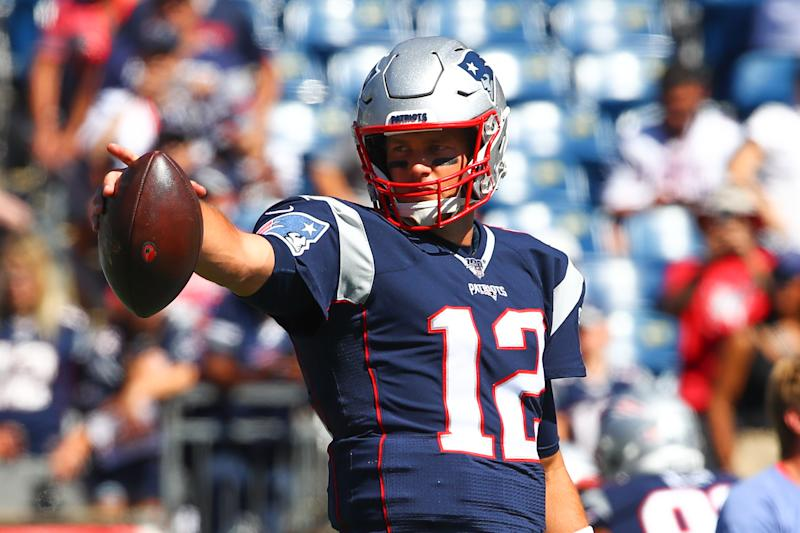 Tom Brady is ready to move on with the Tampa Bay Buccaneers. (Photo by Rich Graessle/Icon Sportswire via Getty Images)