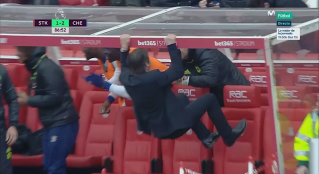 BODY ONLY Antonio Conte Celebration