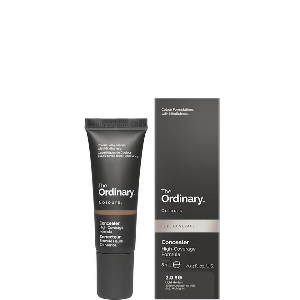 """<h2>The Ordinary Concealer</h2><br>""""Like the rest of the internet, I'm a fan of The Ordinary's no-BS, wildly affordable skin-care products. When I heard they a <a href=""""https://www.refinery29.com/en-us/2021/01/10272165/the-ordinary-concealer-review"""" rel=""""nofollow noopener"""" target=""""_blank"""" data-ylk=""""slk:concealer was in the works"""" class=""""link rapid-noclick-resp"""">concealer was in the works</a>, I was beyond excited. Their <a href=""""https://us.lookfantastic.com/the-ordinary-serum-foundation-with-spf-15-by-the-ordinary-colours-30ml-various-shades/11469319.html"""" rel=""""nofollow noopener"""" target=""""_blank"""" data-ylk=""""slk:Serum Foundation"""" class=""""link rapid-noclick-resp"""">Serum Foundation</a> is another personal fave of mine, so expectations were high. I'm pleased to report that this tiny tube did not disappoint. The coverage is insane, so you only need the tiniest amount to conceal discoloration or under-eye circles — even with the small size, I foresee it lasting quite a long time. At $6, the blurred, soft-matte finish rivals that of my priciest makeup, so consider me sold."""" <em>– Karina Hoshikawa, Beauty & Wellness Writer</em><br><br><em>Shop <strong><a href=""""https://us.lookfantastic.com/the-ordinary-concealer-2.0-yg-8ml/12782366.html"""" rel=""""nofollow noopener"""" target=""""_blank"""" data-ylk=""""slk:LookFantastic"""" class=""""link rapid-noclick-resp"""">LookFantastic</a></strong></em><br><br><strong>The Ordinary</strong> Concealer, $, available at <a href=""""https://go.skimresources.com/?id=30283X879131&url=https%3A%2F%2Fus.lookfantastic.com%2Fthe-ordinary-concealer-2.0-yg-8ml%2F12782366.html"""" rel=""""nofollow noopener"""" target=""""_blank"""" data-ylk=""""slk:LookFantastic"""" class=""""link rapid-noclick-resp"""">LookFantastic</a>"""