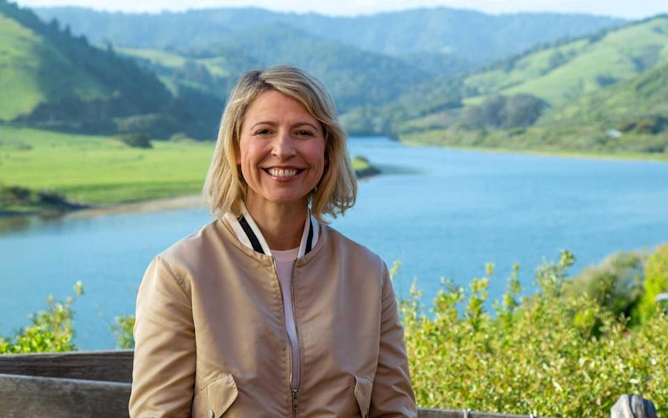 Samantha Brown in Sonoma County