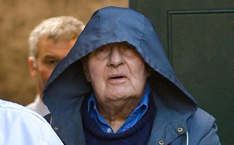 Peter Turner leaving York Crown Court on Tuesday. (SWNS)