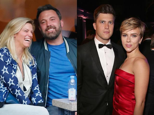 """<p>Between <i>SNL</i> producer Lindsay Shookus, writer and segment director Dave McCary, and writer and <em>Weekend Update</em> star Colin Jost, the show has turned into a breeding ground for celebrity-worthy significant others. Shookus and Ben Affleck <a href=""""https://www.yahoo.com/entertainment/ben-affleck-quietly-entered-dating-181700697.html"""" data-ylk=""""slk:made their romance public;outcm:mb_qualified_link;_E:mb_qualified_link"""" class=""""link rapid-noclick-resp newsroom-embed-article"""">made their romance public</a> in July, when the two vacationed together in London while Affleck did reshoots for the <i>Justice League</i>. Jost took <a href=""""https://www.yahoo.com/lifestyle/scarlett-johansson-colin-jost-first-045903874.html"""" data-ylk=""""slk:his romance with Scarlett Johansson;outcm:mb_qualified_link;_E:mb_qualified_link"""" class=""""link rapid-noclick-resp newsroom-embed-article"""">his romance with Scarlett Johansson</a> public at the end of November. And in October, reports surfaced that Emma Stone was <a href=""""https://www.yahoo.com/entertainment/emma-stone-dating-apos-saturday-194622819.html"""" data-ylk=""""slk:dating McCary;outcm:mb_qualified_link;_E:mb_qualified_link"""" class=""""link rapid-noclick-resp newsroom-embed-article"""">dating McCary</a> after meeting him while hosting the show. (Photos: Getty Images) </p>"""