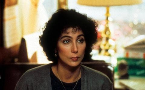 Cher in Moonstruck - Credit: Film Stills
