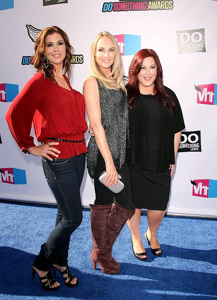 "Is it 1990 again? No, but (L-R) Wendy Wilson, Chynna Phillips, and Carnie Wilson -- better known as Wilson Phillips -- are back together and certainly don't look like they've aged much in 20 years! Jesse Grant/<a href=""http://www.wireimage.com"" target=""new"">WireImage.com</a>"