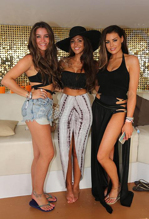 8b4c00f33c Michelle Keegan and Mark Wright party in Ibiza for her Lipsy launch