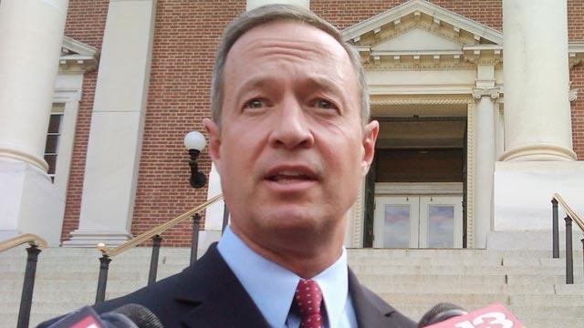 Maryland Gov. O'Malley Backs Gun Control Bill