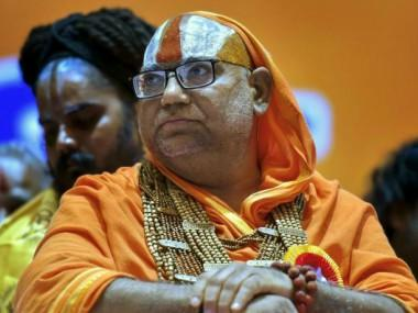 Bring BJP back as it protects 'gai, ganga and govind', say Sants, 'direct' Centre to bring in law to build Ram temple