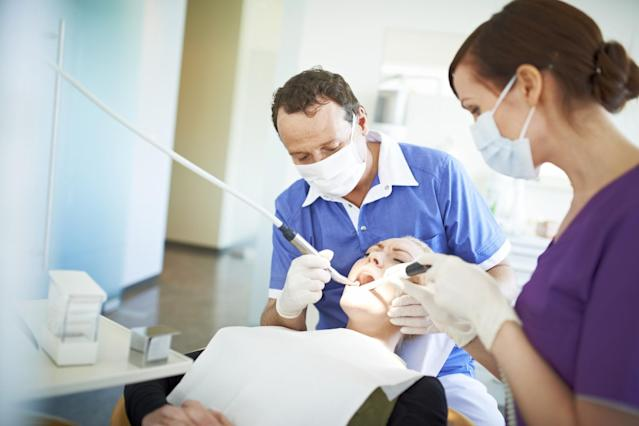 <p>No. 2 highest-paid job: Dentist<br>Average full-time hourly wage: $72<br>(Musketeer / Getty Images) </p>