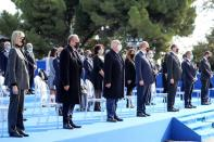 Homage ceremony to the victims of a deadly knife attack, in Nice