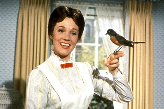 """<strong><em><h3>Mary Poppins</h3></em><h3>, 1964</h3></strong><h3><br></h3><br>If those kids put on <em>Frozen</em> one more time, the snowman's gonna get it.<br><br><strong>Watch On: </strong>Amazon Instant Video<span class=""""copyright"""">Photo: Courtesy of Disney.</span>"""