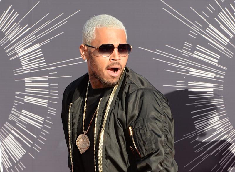 Chris Brown was paid more than $1 million to perform at the Philippine Arena on New Year's Eve (AFP Photo/Mark Ralston )